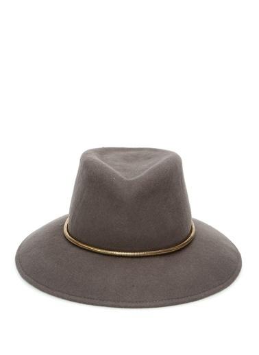 Eric Javits Eric Javits Vizon Bantlı Kadın Yün Şapka 101544313 Vizon